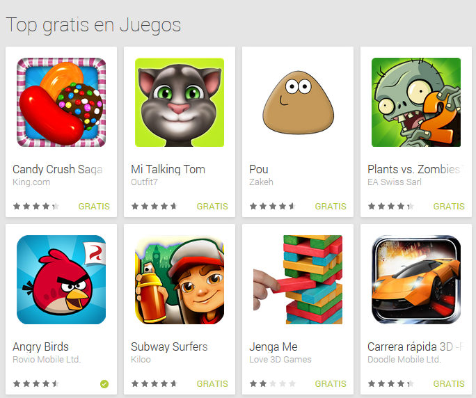 mejores aplicaciones gratis para android
